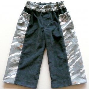 Front View - Finished Treasure Pocket Pants