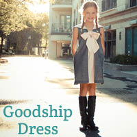 Goodship Dress by Karen LePage