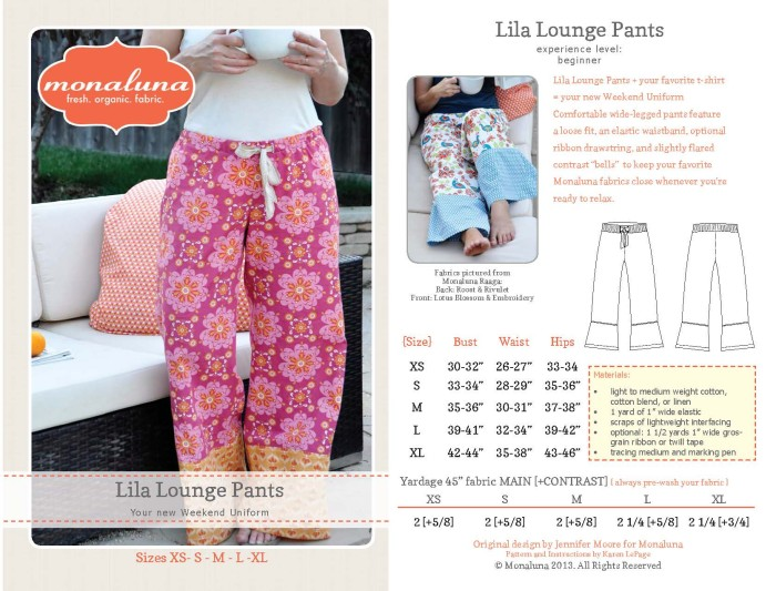 Lila Lounge Pants Coverblog