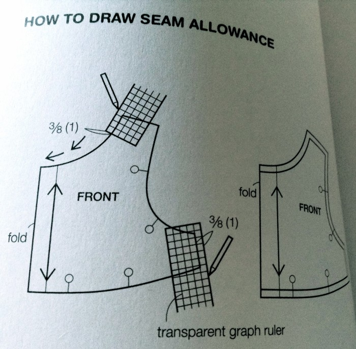 how to add seam allowances