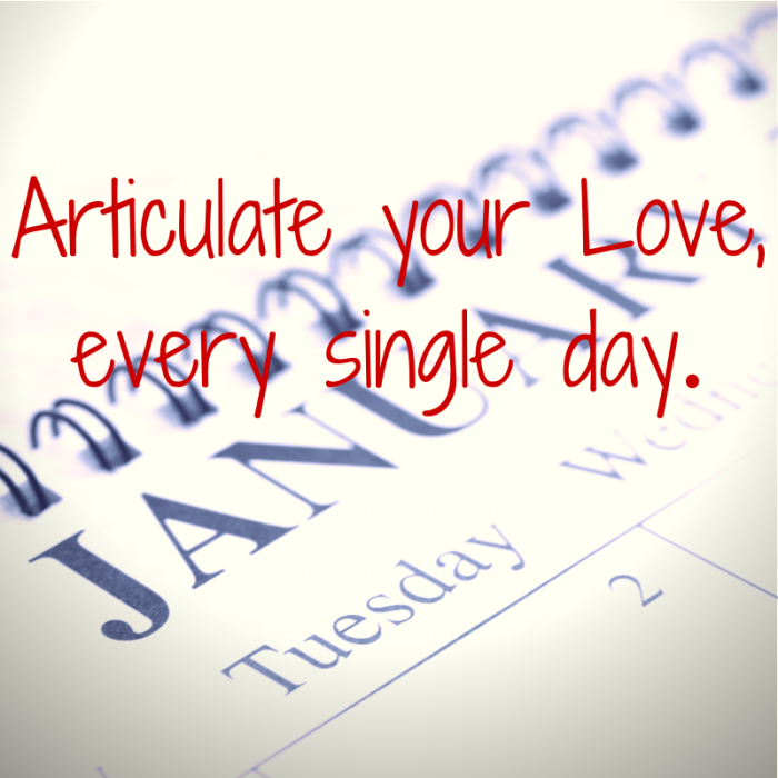 Articulate your Love